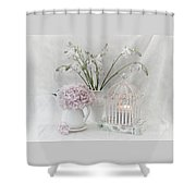 Mother...tell Me Your Memories Shower Curtain