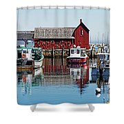Motif #1, Rockport Ma, 1 Shower Curtain