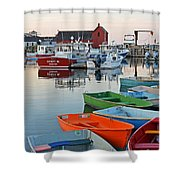 Motif #1 Rockport Ma Shower Curtain