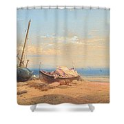 Motif From Italy Shower Curtain