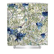 Motif Japonica No. 10 Shower Curtain