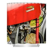 Moto Ducati Motorcycle -2115c Shower Curtain