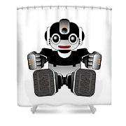 Moto-hal Shower Curtain
