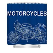 Moto Quotes Shower Curtain