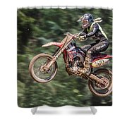 Motocross Shower Curtain
