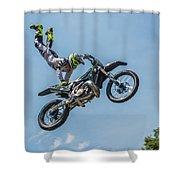Motocross Shower Curtain
