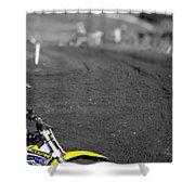 Motocross Slingshot Shower Curtain