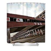 Motor City Industrial Park The Detroit Packard Plant Shower Curtain