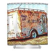 Motor City Pop #19 Shower Curtain