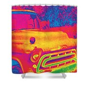 Motor City Pop #6 Shower Curtain