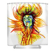 Motorbreath Shower Curtain