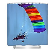 Motorized Parasail 2 Shower Curtain