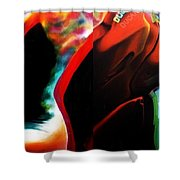 Motostyle 9 Dipic  Shower Curtain