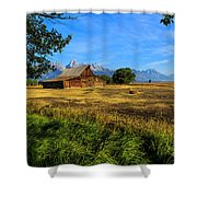 Moulton Barn Jackson Hole Shower Curtain