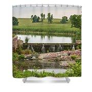 Mound Lake Dam 1 Shower Curtain