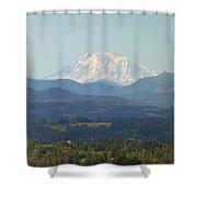 Mount Adams In Washington State Shower Curtain