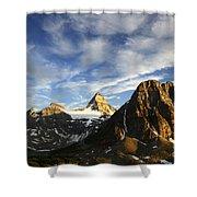 Mount Assiniboine Canada 14 Shower Curtain
