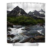 Mount Assiniboine Canada 15 Shower Curtain