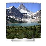 Mount Assiniboine Canada 16 Shower Curtain