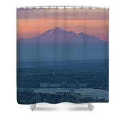 Mount Baker At Sunrise Shower Curtain