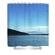 Mount Baker Looms Shower Curtain