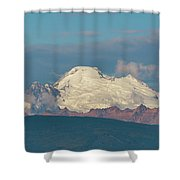 Mount Baker Panorama Shower Curtain
