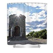 Mount Battie Camden Maine Shower Curtain