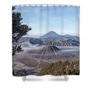 Mount Bromo National Park - Java Shower Curtain