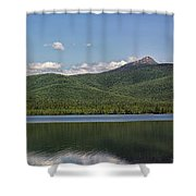 Mount Chocura Panorama Shower Curtain