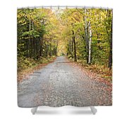 Mount Clinton Road - Beans Grant New Hampshire Shower Curtain