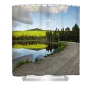 Mount Deception - White Mountains, New Hampshire Shower Curtain by Erin Paul Donovan