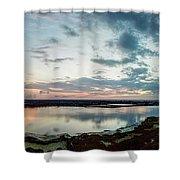 Mount Dora Fl Sunset Shower Curtain
