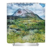Mount Errigal County Donegal Ireland 2016 Shower Curtain