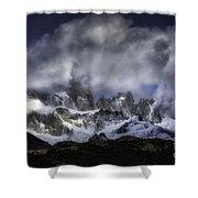 Mount Fitz Roy 6 Shower Curtain