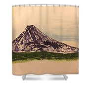 Mount Fuji And Power Of Mystery Shower Curtain