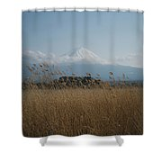 Mount Fuji Shower Curtain
