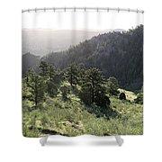 Mount Galbraith In Spring Shower Curtain