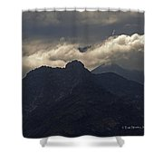 Mount Graham Mountain In Arizona Shower Curtain