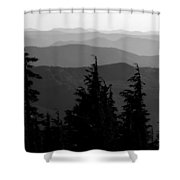 Mount Hood National Forest Shower Curtain