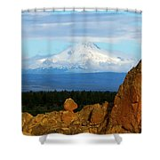 Mount Jefferson Shower Curtain