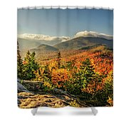 Mount Jo View Shower Curtain