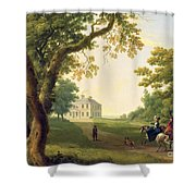 Mount Kennedy - County Wicklow Shower Curtain