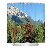 Mount Kerkeslin Shower Curtain