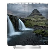 Mount Kirkjufell Iceland Shower Curtain