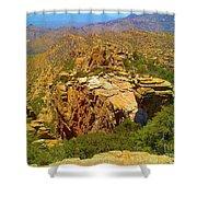 Mount Lemmon II Shower Curtain