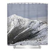 Mount Lincoln From The Appalachain Trail - White Mountains Nh Usa  Shower Curtain