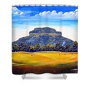 Mount Lindesay,australia Shower Curtain