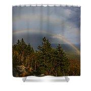Mount Monadnock Shower Curtain