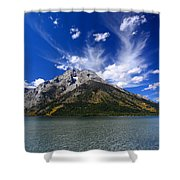 Mount Moran From Leigh Lake Shower Curtain