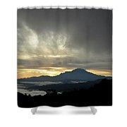 Mount Of Borneo Malaysia Shower Curtain